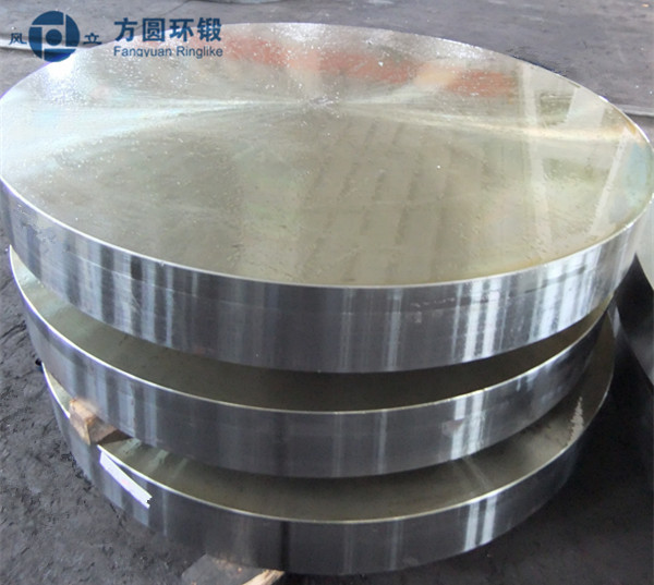 Protroleum Chemical  Alloy Steel Forged Round Metal Discs OD 1200mm