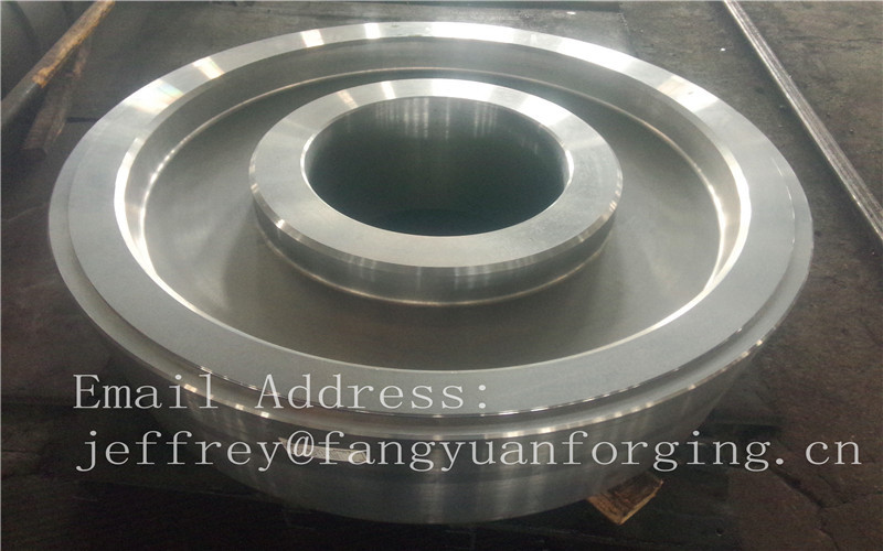 EN JIS ASTM AISI BS DIN Forged Wheel Blanks Parts Grinding Wheel Helical Ring Gear Wheel